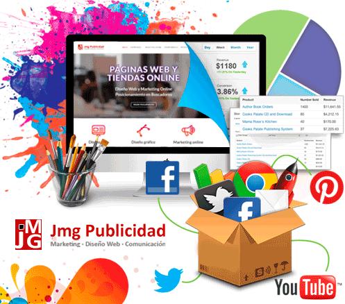 Diseño web Barcelona- jmg